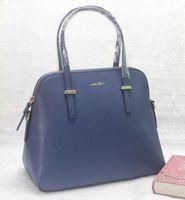 Wholesale 2015 NEW Fashion Lady s Gift Hight Quality Cross HandBags Genuine Leather Fashion Women s Blue Bag Leather Handbag Lady s Crossbody Bag