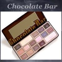 Wholesale Hot Chocolate bar colors makeup Professional eyeshadow Palette Makeup eyeshadow vs smoky nude