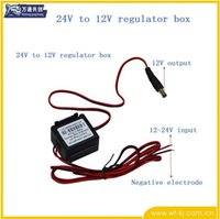 Cheap Small appliances LED converter 24V 12V power regulator turn multifunction switch 12V 24V supply voltage box wantong free shipping