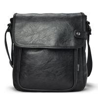 Wholesale 2014 man solid shoulder bag fashion messenger bag male messenger bag vintage cover bolsa de festa bolsa couro bolsa masculina