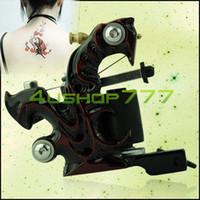 Cheap Professional Handmade Cast Iron Tattoo Machine Liner Shader Equipment tattoo kit EN1606