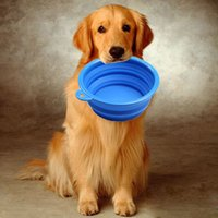 ceramic dog bowl - X New Style Dog Cat Portable Silicone Collapsible Foldable Feeding Bowl Water Dish Feeder Travel Tools Colors