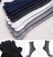 men five fingers socks - new arrival mens football socks casual finger socks Five Finger Pure Cotton soft Socks male basketball socks D1827