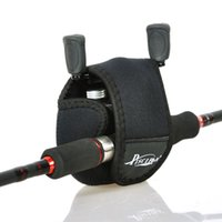 Wholesale New Nylon Carcia Wheel Spinning Baitcasting Fly Fishing Reel Bag Protective Case Fishing Tackle Black
