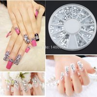 Wholesale Multi Style Studs Nail DIY Diamond Art D Design Decoration Stickers Square Punk Rivet