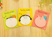 Wholesale 2016 Paper Products New LOVE Meme family stickers Animal Scratch Pad Sticker