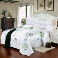 Adults Cotton King hot sale!!! 7 colors green flower summer quilts high quality cotton quilts queen king size quilts