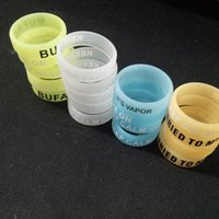 Cheap 2016 High Quality Vape Rings Bands Glow In The Dark Rubber Silicone Rings Electronic Cigarette Mechanical Mods RDA RBA Mahattan Subtank