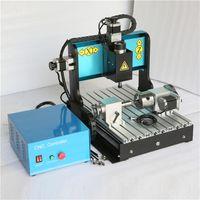 Máquina JFT 3 ejes grabado 3D con puerto USB 2.0 600W Routers CNC para trabajar la madera Mini máquina de la carpintería 3040