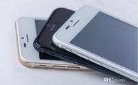 Wholesale 128GB GB Goophone i6 Phones inch i6 Plus inch Metal Body Phone i6s Quad Core1G RAM G ROM MTK6582 Mobile cell Phones
