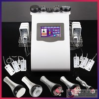 Wholesale New Cellulite Removal Tripolar RF nm Diode Laser LLLT Lipo Laser Ultrasonic Cavitation Slimming Machine