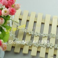 Wholesale Stock mm lace for craft lace for wedding decoration lace yards