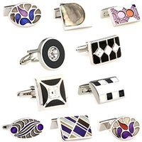 Wholesale 10 Kinds Of Hotsale Style Novelty Cufflinks For Men Fashion Cool Men Gift Mixed Purchase Can Be Chose High Quality Freeshipping