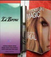 Wholesale Hot Sale Make Your Eyelash grow LiBrow Purified Eyebrow Serum Eye Brow Growing ml Free DHL Shipping
