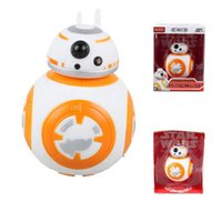 Wholesale 1pcs Star Wars The Force Awakens sphero Star Wars BB8 BB Droid Robot Action Figure toy model Anime robot cm