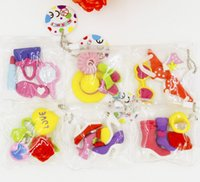 assorted erasers - 6 Packs of Assorted Cute Girls Favorite Puzzle Erasers Sweet Stationary Kids Party Favors Goodie Bags Birthday Gifts Give Away