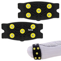 anti climb - Delicate Snow Ice Climbing Anti Slip Spikes Grips Crampon Cleats Stud Shoes Cover