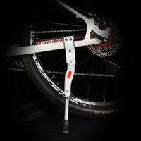 Wholesale Adjustable Aluminum Bicycle Kickstand Folding Cyling Side Stand Parking Leg Rod Mountain Bike Parts