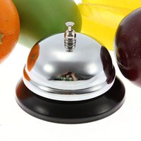 Wholesale Hot Sale Desk Service Call Bell For Kitchen Hotel Counter Reception Restaurant Bar Pub Metal Ringer