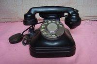 bakelite telephone - Package Japanese old bakelite dial telephone dial the old telephone have a non Dish Detailing