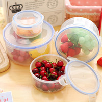 Wholesale Plastic food container household crisper sizes refrigerator vegetable food preservation storage box fruit contain box