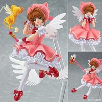 action smile - Japanese Anime Good Smile Max Factory Figma No Cardcaptor Sakura Sakura Kinomoto Action Figure