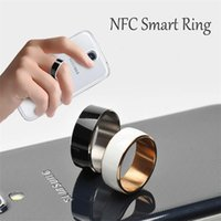 Wholesale The World Premiere NFC Smart Ring2 for Android WP Mobile phone Multifunction Smart Wear Magic Ring for Samsung Xiaomi Huawei HTC
