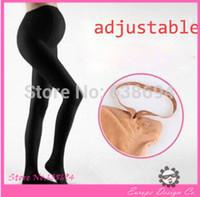 Spring / Autumn maternity clothes - 2015 Autumn Winter cotton Adjustable High elasticity Skin color black maternity leggings pregnant clothes pants NEW D
