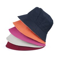 Wholesale Blank Cotton Twill Bucket Hat One Size Fits All Fishing Bucket Hat