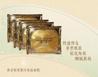 Wholesale Gold Bio Collagen Facial Mask Face Mask Crystal Gold Powder Collagen Facial Mask Moisturizing Anti aging