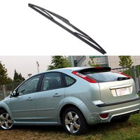 Wholesale Soft Rubber Blade Window Wiper - 14'' Car Soft Rubber Rear Rain Window WindShield Wiper Blade Decoration For Ford Focus 2 Hatchback 2005 2006 2007 2008 2009 2010