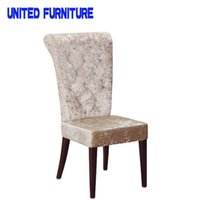 Wholesale Dining Room Furniture Type and Dining Chair Specific Use simple modern stainless steel leather dining chair