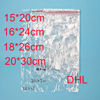 bag thickness - PE Clear Plastic C Thickness Bags Zip Locks Ziplock Red Zipper Poly OPP Self Adhesive Seal Packing Package Packaging for Retail DHL