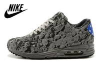 in style shoes - Nike air max Moon Landing women and men running shoes Nike factory outlet Lover glow in the dark nike air cushion sneaker style