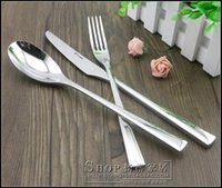 Wholesale German exports SS Western sets of cutlery to eat the main meal of soup spoon dessert spoon
