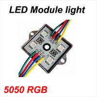 Wholesale LED Modules light SMD RGB DC V waterproof IP65 backlight outdoor advertising lamp square