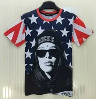 Wholesale Amy New Men Women t shirt Wear a hat girl printing D High quality Cultivate hip hop man T shirt size M XXL