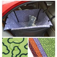 Wholesale Seat Cover For Pets Wholesale - 2015 4Color Waterproof Pet supplies dog cat mats Back Seat Covers Car Pets Seat Cover for dog Hammock Cushion Protector