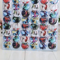 Wholesale 48pcs set cm Big Hero Baymax Badges Kid Gift Pin Badge Novelty Cartoon Accessories