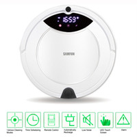 Wholesale Multifunctional Automatic Recharge Schedule LED Screen Intelligent Cleaning Robot Vacuum Cleaner Sweeper with Mop Remote Control order lt no