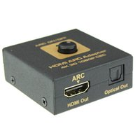 arc audio - Hot selling New HDMI ARC Adapter to HDMI Optical Audio Converter k D P CEC pc