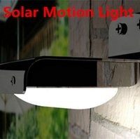 Wholesale Solar Motion Light LED Lighting Solar Motion Detector Security Lights Sensitive Motion Sensor Outdoor LED Wall Lamps Path Garden