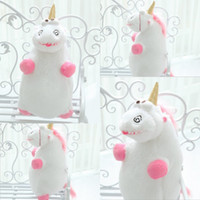 Wholesale 2015 Kids Toys Gifts despicable me cute cartoon Unicorn American movie anime animal plush Stuffed toy doll birthday gifts for girls MYF31