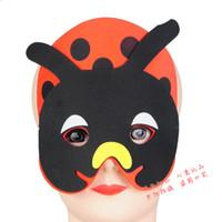 beetle film - Factory direct sale masks EVA children ladybird beetle animal masks nursery performance props headdress dance parties