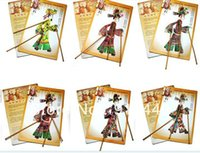 Wholesale 4pcs Chinese handcraft Folk Art Shadow puppet chinese ancient characters novels people play