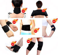 Wholesale 11 In Tourmaline Magnetic Therapy Belt Self Heating Massage Tormaline Belt For Keeping Warm Relieve Pain