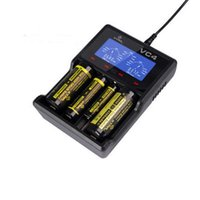 battery charger polarity - Original XTAR VC4 LCD Smart Battery Charger Intelligently Identify Charger Short Circuit Polarity Reverse Protection DHL