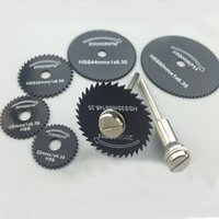 Wholesale 7PC HIGH SPEED STEEL WOOD CUTTING SAW BLADES DREMEL With Cobalt High quality