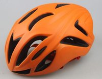 Wholesale 2016 Ubisex Orange Cycling Helmets Casco Ciclismo Racing Hiking Bicycle Helmets Hats Breathable Road Mountain MTB Protective Bike Helmet