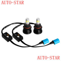 Wholesale LED car auto headlight V V W ML COB leds all in one White Bulb with Fan Play Plug for Automotives lamp